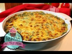 Ispanaklı Beşamelli Fırında Patates (Çook Seveceksiniz) | Ayşenur Altan Yemek Tarifleri - YouTube