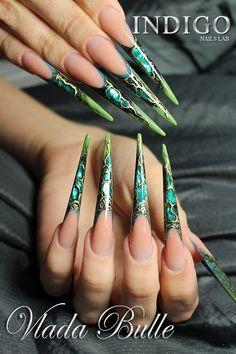 Cover No.6 Natural Chic! by Vlada Bulle Indigo France #nails #nail #nailart #acryl #acrylics #art #amazing