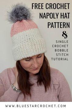 Easy Crochet Hat, Crochet Slouchy Hat, Crochet Beanie Pattern, Crochet Patterns Amigurumi, Free Crochet, Crochet Dolls, Autumn Crochet, Crochet Headbands, Crochet Clothes