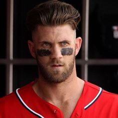 nice 40 Awesome Bryce Harper's Haircuts - Legendary Inspiration Check more at http://machohairstyles.com/best-bryce-harper-haircuts/