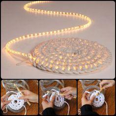 Crochet Light Rug