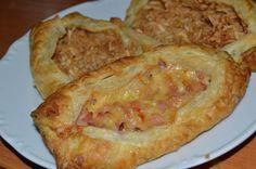 Recept na chrumkavé syrové a jablkové taštičky z lístkového cesta