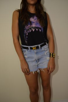 High Waisted Shorts For Summer!   Buy them at:http://www.ebay.com/itm/Vintage-High-Waisted-Dakota-Shorts/151089113922?ssPageName=WDVW=1=005=11555=ViewItem