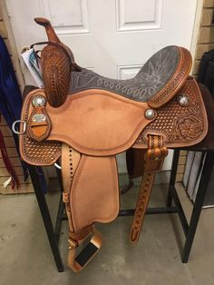 The most important role of equestrian clothing is for security Although horses can be trained they can be unforeseeable when provoked. Riders are susceptible while riding and handling horses, espec… Barrel Racing Saddles, Barrel Saddle, Barrel Racing Horses, Saddle Rack, Barrel Horse, Western Horse Tack, Cowgirl And Horse, My Horse, Horse Riding