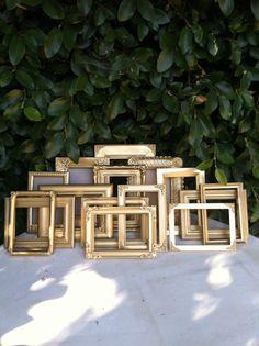 Wedding Frames Set of 15 Mix & Match  5x74x6 by ThePaintedLdy, $209.00