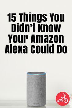Alexa skills for your Echo. Alexa Dot, Alexa Echo, Alexa Tricks, Dot Hack, Alexa Commands, Amazon Alexa Skills, Smart Home Technology, Technology Hacks, Tech Hacks