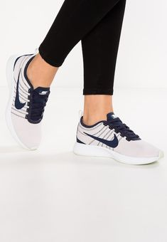 new product 9b409 f9a99 Chaussures Nike Sportswear DUALTONE RACER - Baskets basses - barely  grey obsidian barely rose