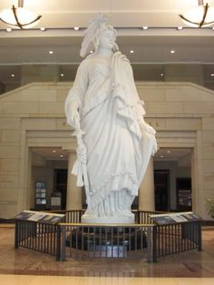 Model for The Statue of Freedom in The United States Capitol Building ~ Washington DC