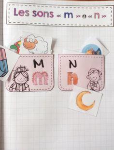"""La classe de Laura: Les sons """"m"""" et """"n"""""""