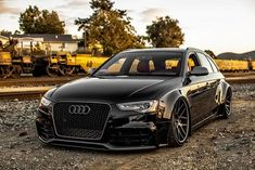 Black Stance Audi A4 B8