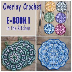 E-Book No. 1  in the kitchen 3 Pattern in Overlay by CAROcreated