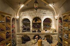 Bourgondisch Kruis - Rustieke bouwmaterialen - Realisaties - Wijnkelder