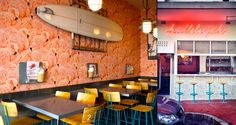 We list 20 of the hippest, small-of-space but big-on-atmosphere places to eat, drink and chill in Cape Town. Champagne Bar, Cool Pools, Tasty Dishes, Cape Town, Places To Eat, Restaurant, Dining, Bar Food, South Africa