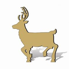 11-526 - Reindeer Shadow Woodworking Plan - Woodworkersworkshop® Online Store