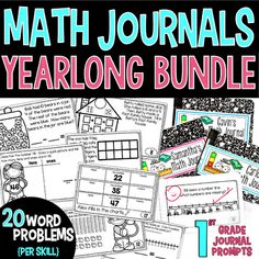 1st Grade Math Journ