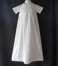This beautiful christening/baptismal gown is perfect for any special occasion such a wedding, church presentation, blessing and keepsake photos .