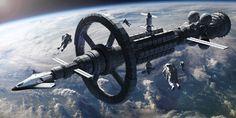 Spaceship Art, Spaceship Design, Spaceship Concept, Concept Ships, Concept Art, Planet Earth From Space, Cosmos, Sci Fi Spaceships, Space Artwork