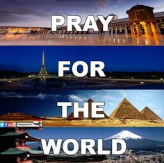 We pray for Egypt, France, Palestine, Lebanon, Syria، Japan, Iraq, Yemen, Libya and Tunisia. We pray for HUMANITY. We have to be ALL AGAINST TERRORISM! TERRORISM does not differentiate between people,...