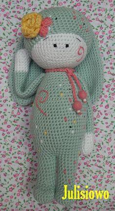 Muñeca de ganchillo patrón Amelia