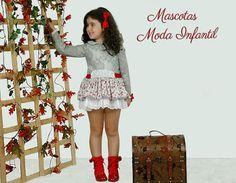 #modainfantil #otoñoinvierno #belcoquet Lace Skirt, Skirts, Dresses, Fashion, Kids Fashion, Pets, Vestidos, Moda, Skirt