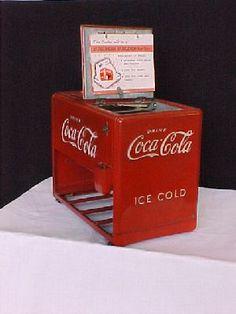 Coca Cola Salesman's Sample