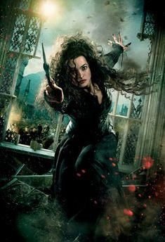 Rock Stars Who Look Like Wizards: Lady Gaga (Bellatrix Lestrange). The reigning Queen of Pop as die-hard Voldemort loyalist Bellatrix Lestrange. Harry Potter World, Harry Potter Poster, Harry Potter Hermione, Images Harry Potter, Mundo Harry Potter, Harry Potter Love, Harry Potter Characters, Draco Malfoy, Harry Potter Bellatrix Lestrange