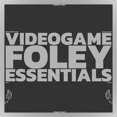 Videogame Foley Essentials was created with the goal of assisting all editors and sound designers alike on their newly found videogame ventures, ready to satisfy all your foley needs. You'll find on this library the following folders with clear nomenclature and respective metadata pertaining to various interactions either with environmental objects or the characters you'll find in the game itself: * Buttons & Switches: everything from simple button presses (of all shapes, sizes and materials,…