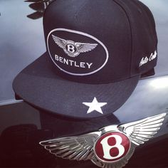 The Auto Couture  Bentley snapback having some fun at a local car event.  See cool car inspired  snapback  hats on the site BloomPepper.com ae503c21493e