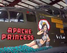 Fantasy of Flight 2007, B-25 nose art and missions