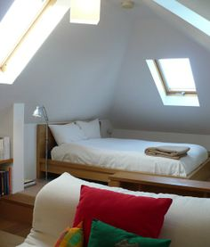 Bedrooms in the Attic