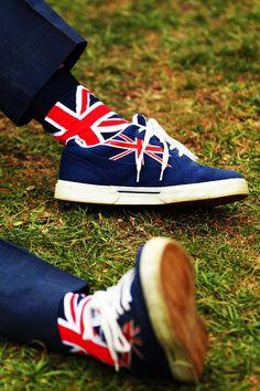Union Jack shoes & socks