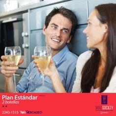 Únete a nuestro nuevo Plan Estándar llamando al ☎ 2243-1515. #Vinoteca #Friends #Society #Wine #Perfect