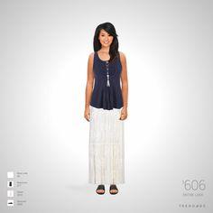equipo de la manera hecha por Karina el uso de ropa de Ghost, Maurices, New Look, Buscemi. Estilo hecho en Trendage.