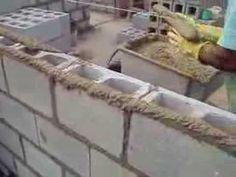 Como Assentar blocos de concreto vazado - BLOJAF