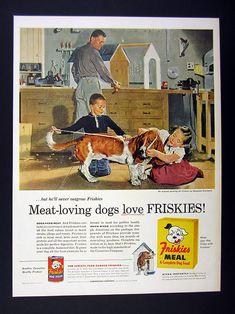 1956 Douglas Crockwell Friskies Ad