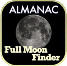 This simple full Moon app from the venerable Old Farmer's Almanac will put a smile on your face.