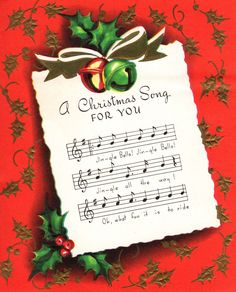 Jingle Bells...jingle all the way.