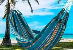 Hand made south American hammocks.  These are the best!