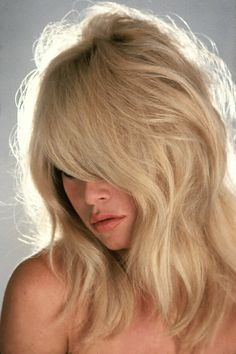 Brigitte Bardot. layers and bangs.