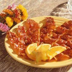 Linda's Caramelized Bacon