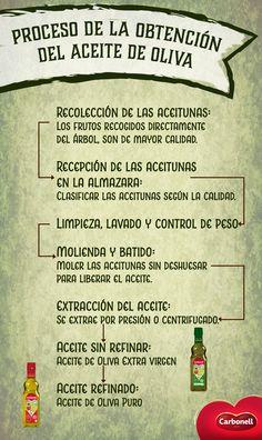 El Aceite de Oliva se obtiene de procesos mecánicos que permiten que conserve sus propiedades naturales, descúbrelo:   #OliveOil #MomentosCarbonell