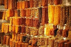 Baltic Amber necklaces (Poland)