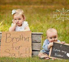 Brother for sale - I love my sister !