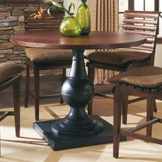 A.R.T. Furniture Whiskey Oak Counter Height Dining Table - Copper/Barrel Oak   from hayneedle.com