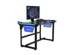 E-BLUE WIRELESS GLOW GAMING DESK (3 Sizes)