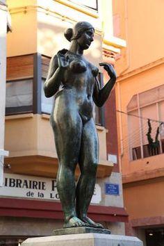 Vénus au collier - Maillol à Perpignan.. Languedoc-Roussillon
