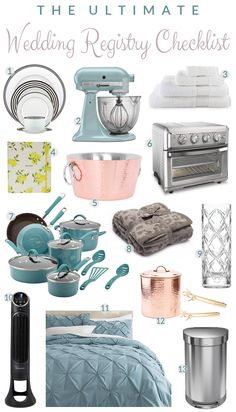 Getting married and have no idea what you should add to your wedding registry? I've got you covered with my ultimate wedding registry checklist! Bridal Shower Registry, Wedding Registry Checklist, Best Wedding Registry, Wedding Planning Checklist, Wedding Checklists, Walking In Memphis, Second Weddings, High Heels, Fuentes De Agua