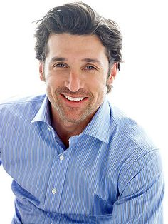 Patrick Dempsey and I have a phone call on Tuesday