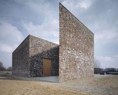 Erwin Heerich - Schnecke pavilion - Hombroich - 1993