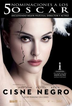 """cartel de la película """"Cisne negro"""""""